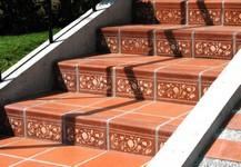 Unglazed Border Tiles - Cenefa Standard