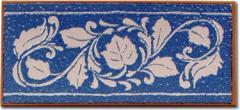 Glazed Border Tiles - Cenefa Azul