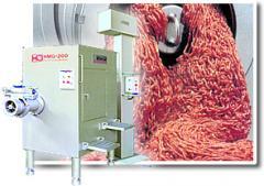 Chopping Frozen Meat