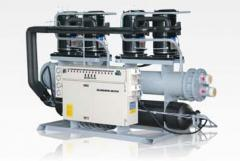 Water-Cooled Scroll  Chillers 42 - 218 kW)  (12 - 62 Tons)