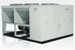 Air-Cooled Scroll Compressors (35 - 246 kW)  (10 - 70 Tons)