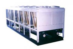 Air-Cooled Horizontal Screw Compressors 317 - 2237 kW)  (90 - 636 Tons)