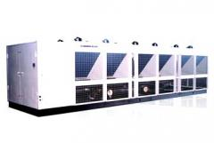 Air to Water Vertical Screw Compressors Heat Pump