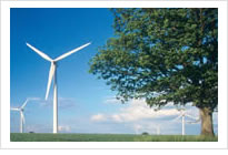 Clean and Renewable Wind-Generated Power