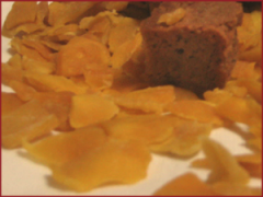Butterscotch with Mango Chips
