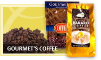 Gourmet's Coffee Arabica, Robusta, Liberica