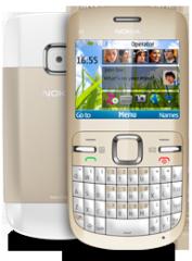 Nokia C3 smartphone