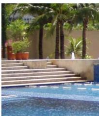 Stone Stairs Swimming Pool