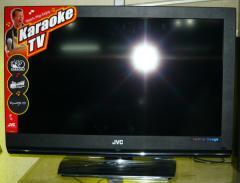 """JVC LT32A1 32"""" LCD karaoke TV"""