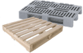 Wooden and Plastic Pallets