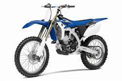 Yamaha YZ250F motorcycle