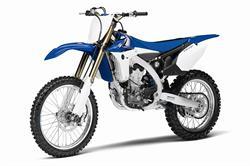 Yamaha YZ450F motorcycle