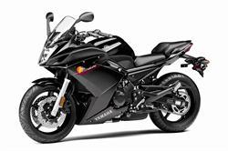 Yamaha FZ6R motorcycle