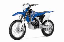 Yamaha WR250F motorcycle