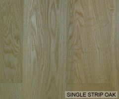 Pre-Finished / Natural Single Strip Oak