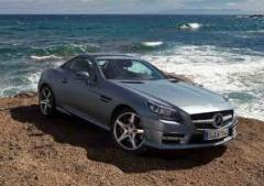 Mercedes Benz SLK350 car