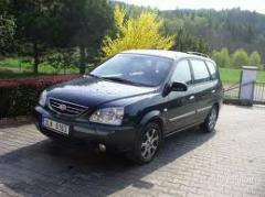 KIA Carens 2.0 LX MT car