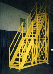 Movable Stair Steel