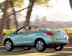 Nissan Murano CrossCabriolet car