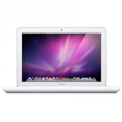 Apple Macbook White Laptop