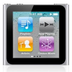 Apple iPod nano touch player