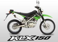 Kawasaki KLX 150 motorcycle