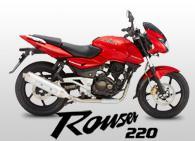 Kawasaki Rouser 220 motorcycle