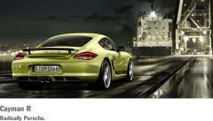 Porsche Cayman R car