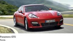 Porsche Panamera GTS car