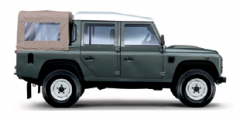 Land Rover 110 Double Cab Pickup car
