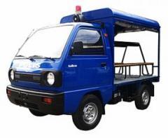 Patrol cab