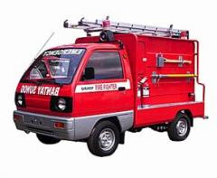 Barangay Fire Fighter car