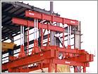 410 ton Generator Lifted