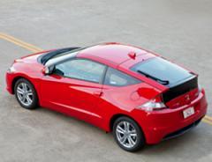 Honda CR-Z CVT car