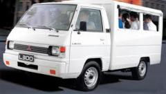 Mitsubishi L300 PET van