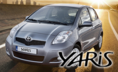 Toyota Yaris car