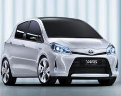 Toyota Yaris 1.5 Automatic car