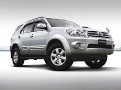 Toyota Fortuner car