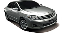 Toyota Corolla Altis car