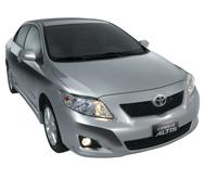 Toyota Corolla Altis 1.6 M/T car