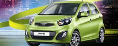 Kia Picanto 1.1 Automatic car