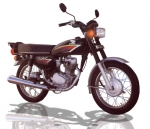 Honda TMX 125 motorcycle