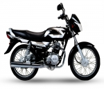 Kawasaki Bajaj CT100 motorcycle