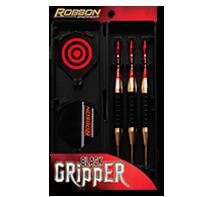 Black Gripper -Brass Dart Pins