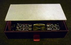Fully Lined Drawer-Type Gift or Storage Box (Open)