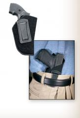 Inside the pant holsters