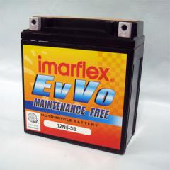 EvVo 12N5-3B Motorcycle electric starter battery