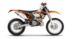 KTM 300 EXC motorcycle