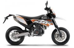 KTM 690 SMC motorcycle