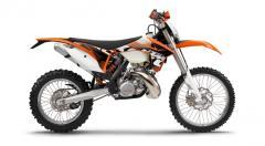 KTM 200 EXC motorcycle